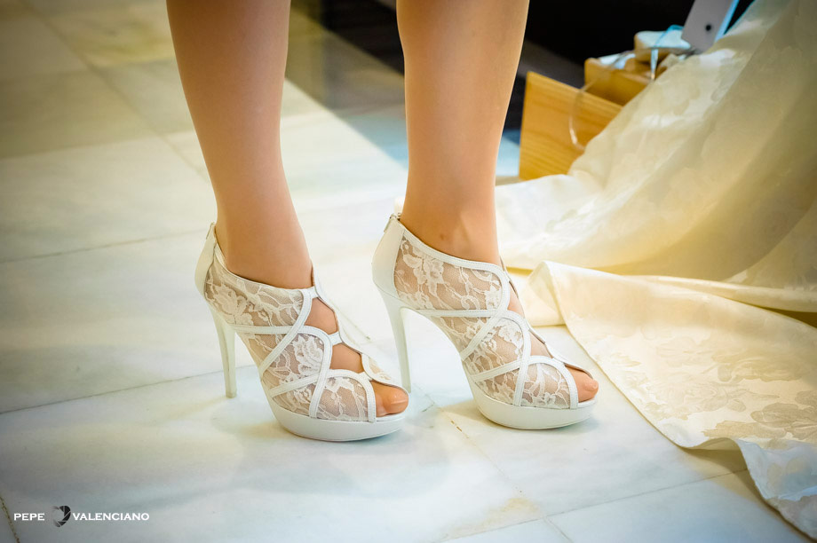 zapatos de novia | fotos de zapatos de novia | fotógrafo bodas madrid
